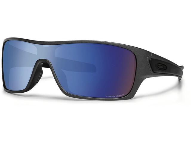 Oakley Turbine Rotor Sunglasses Turbine Rotor Steel/Prizm Deep Water Polarized